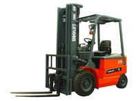 Four Wheel Electric Forklift